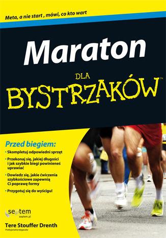 Okładka książki Maraton dla bystrzaków
