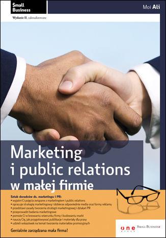 Okładka książki/ebooka Marketing i public relations w małej firmie. Wydanie II  zaktualizowane