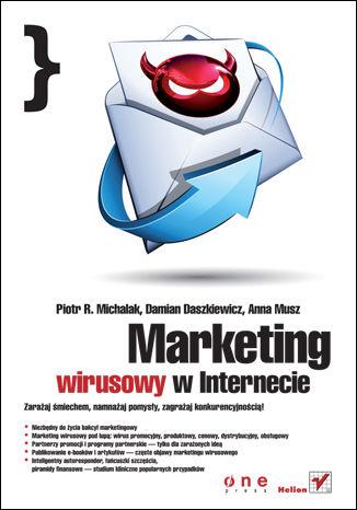 Okładka książki/ebooka Marketing wirusowy w internecie