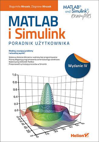 Okładka książki/ebooka MATLAB i Simulink. Poradnik użytkownika. Wydanie IV