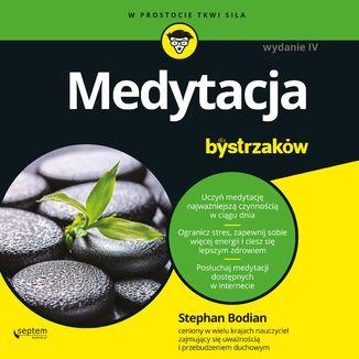 Okładka książki Medytacja dla bystrzaków. Wydanie IV