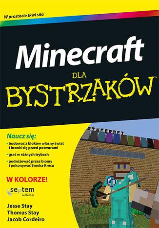 Okładka książki Minecraft dla bystrzaków