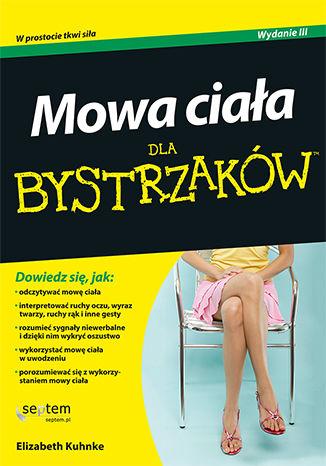 Okładka książki Mowa ciała dla bystrzaków. Wydanie III