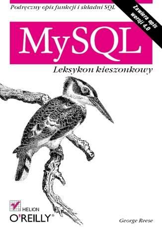 Okładka książki/ebooka MySQL. Leksykon kieszonkowy