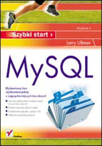 Okładka książki/ebooka MySQL. Szybki start. Wydanie II