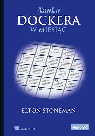 Okładka książki Nauka Dockera w miesiąc
