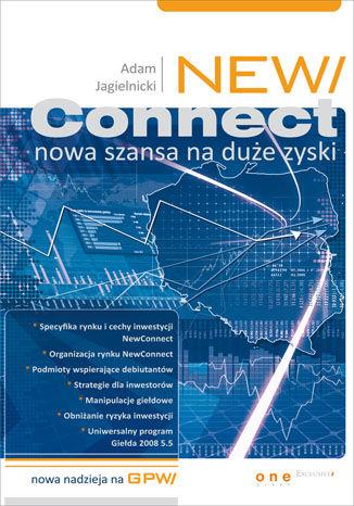 Okładka książki/ebooka NewConnect - nowa szansa na duże zyski