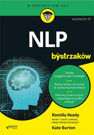 Okładka książki/ebooka NLP dla bystrzaków. Wydanie III