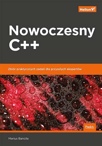 Okładka książki Nowoczesny C++.  Zbiór praktycznych zadań dla przyszłych ekspertów