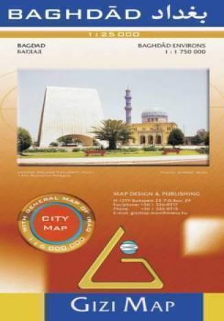 Bagdad / Baghdad. Plan miasta (Gizi Map)