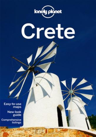 Okładka książki Crete (Kreta). Przewodnik Lonely Planet