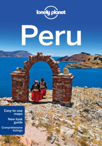 Okładka książki Peru Lonely Planet Peru