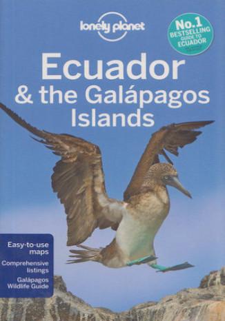 Okładka książki Ecuador and the Galapagos Islands (Ekwador i Galapagos). Przewodnik Lonely Planet