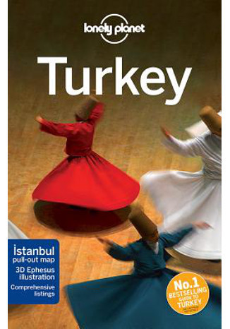 Okładka książki Turkey (Turcja). Przewodnik Lonely Planet
