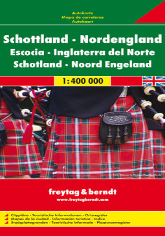 Okładka książki/ebooka Szkocja. Mapa Freytag & Berndt 1:400 000