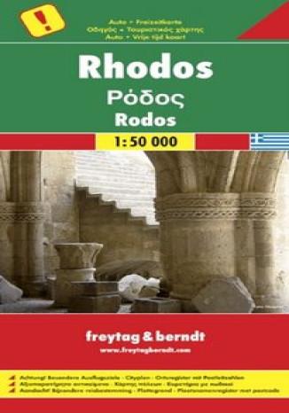 Okładka książki/ebooka Rodos. Mapa Freytag & Berndt 1:50 000