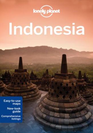 Okładka książki Indonesia (Indonezja). Przewodnik Lonely Planet