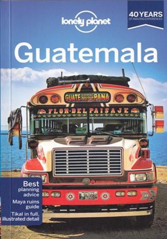 Okładka książki Guatemala (Gwatemala). Przewodnik Lonely Planet