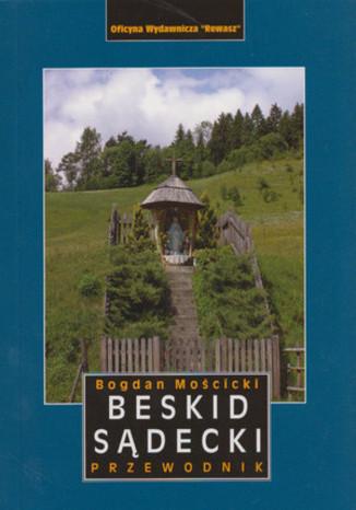 Okładka książki Beskid Sądecki. Przewodnik Rewasz