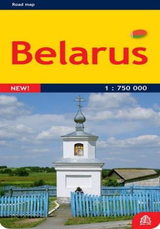 Okładka książki/ebooka Białoruś. Mapa Jana Seta / 1:750 000