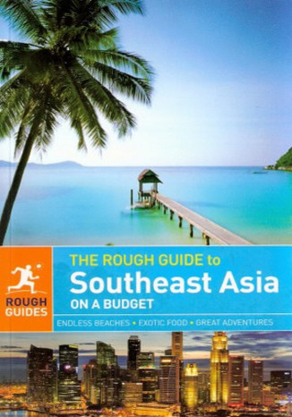 Okładka książki Southeast Asia On A Budget (Azja Południowo-Wschodnia na każdą kieszeń). Przewodnik Rough Guide