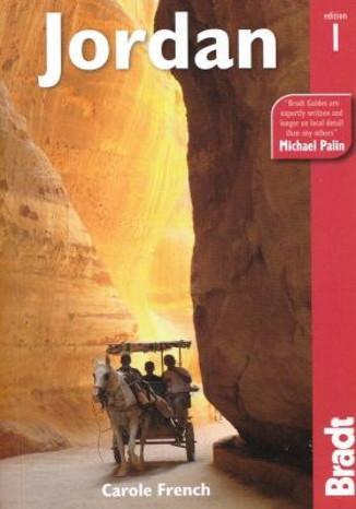 Okładka książki/ebooka Jordan (Jordania). Przewodnik Bradt