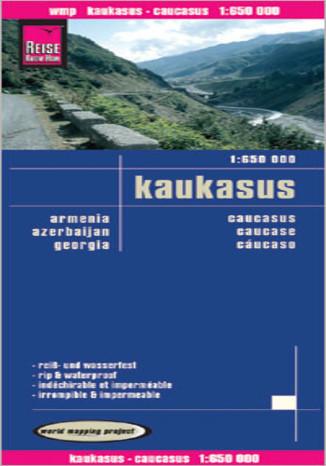 Okładka książki Kaukaz. Mapa Reise Know-How / 1:650 000