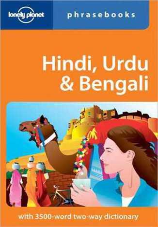 Okładka książki Hindi Urdu & Bengali phrasebook (Indie i Pakistan rozmówki). Lonely Planet