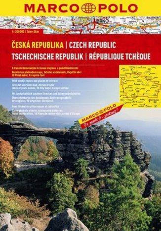 Czechy. Atlas Marco Polo 1:200 000