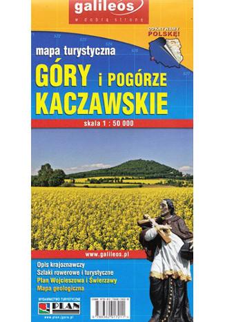 Okładka książki Góry i Pogórze Kaczawskie. Mapa Plan 1:50 000
