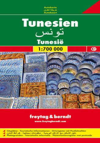 Okładka książki Tunezja. Mapa samochodowa