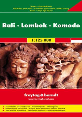 Okładka książki Bali, Lombok, Komodo. Mapa Freytag & Berndt / 1:125 000