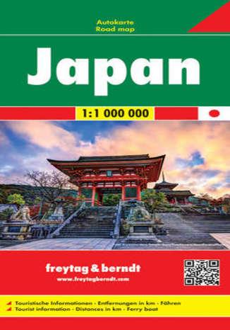 Okładka książki Japonia. Mapa Freytag & Berndt / 1:1 000 000