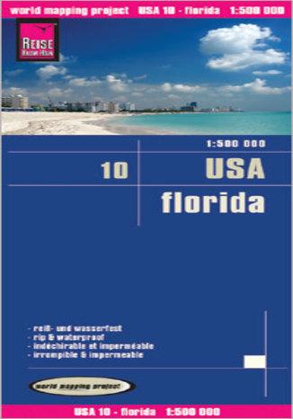 Okładka książki USA - Floryda. Mapa Reise Know-How / 1:500 000