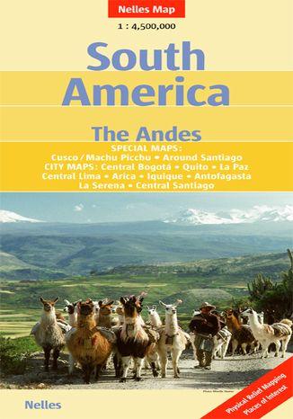 Okładka książki Ameryka Południowa - Andy. Mapa Nelles / 1:4 500 000