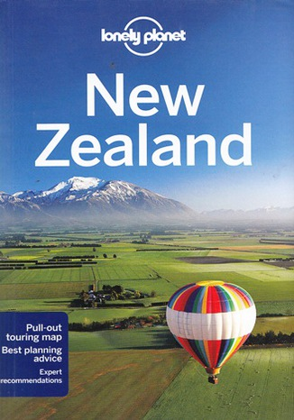Okładka książki New Zealand (Nowa Zelandia). Przewodnik Lonely Planet