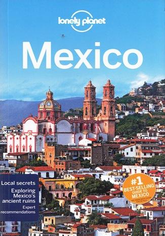 Okładka książki Mexico (Meksyk). Przewodnik Lonely Planet