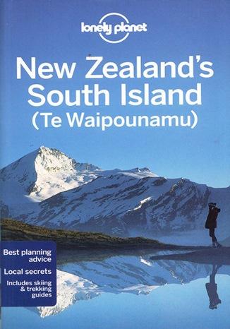 Okładka książki New Zealand's South Island (Nowa Zelandia Wyspa Południowa). Przewodnik Lonely Planet