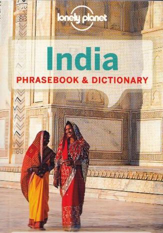 Okładka książki/ebooka India Phrasebook (Indie, rozmówki)
