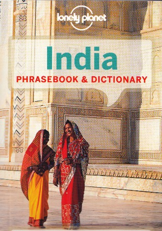 Okładka książki India Phrasebook (Indie, rozmówki)