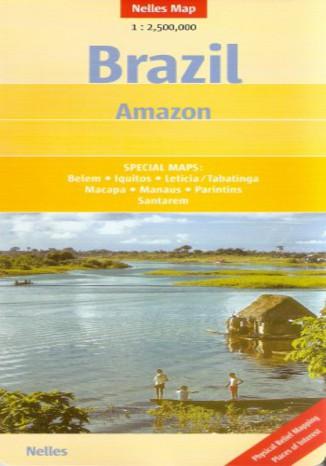 Okładka książki Brazylia, Amazonka. Mapa Nelles 1:2 500 000