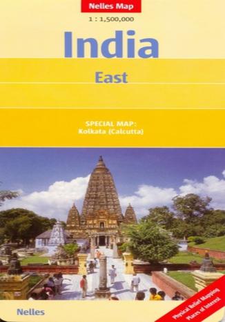 Okładka książki Indie Wschodnie. Mapa Nelles 1:1 500 000