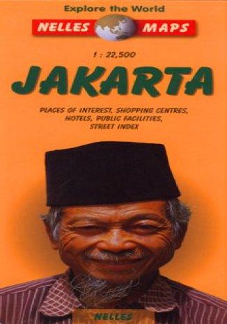 Dżakarta. Mapa