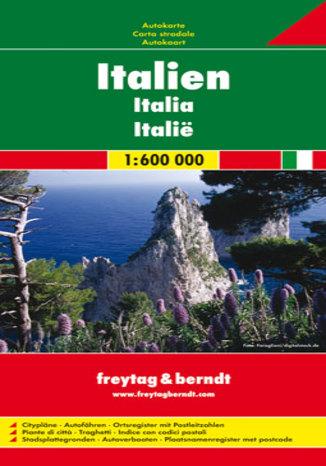 Okładka książki/ebooka Włochy. Mapa Freytag & Berndt / 1:600 000