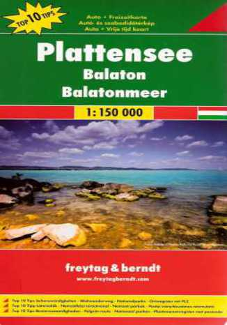 Okładka książki Balaton. Mapa Freytag & Berndt / 1:150 000