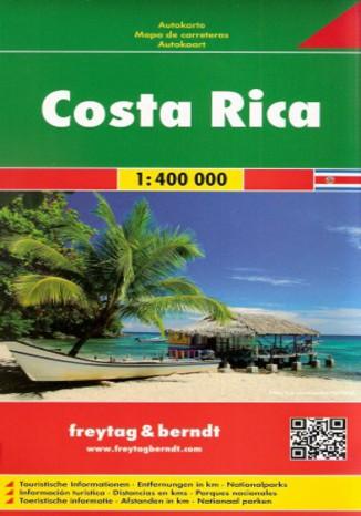 Okładka książki/ebooka Kostaryka. Mapa Freytag & Berndt / 1:400 000