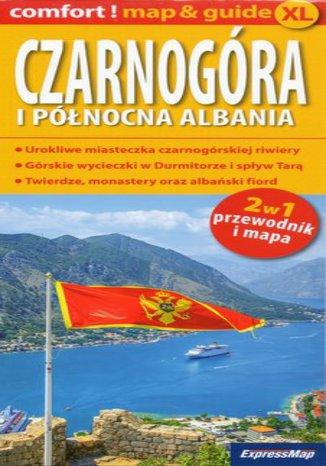 Okładka książki Czarnogóra i Północna Albania 2w1, 1:300 000