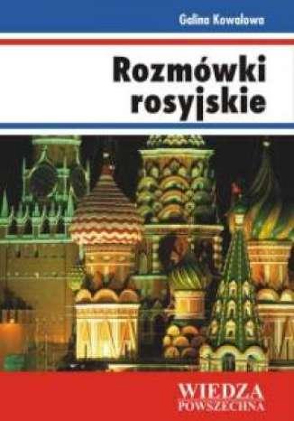 Okładka książki/ebooka Rozmówki rosyjskie