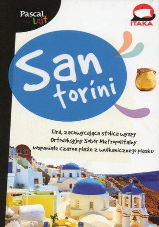 Okładka książki Santorini. Przewodnik Pascal 360 stopni