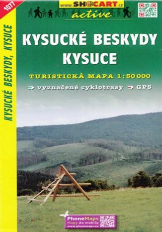 Okładka książki/ebooka Kysucké Beskydy, Kysuce, 1:50 000